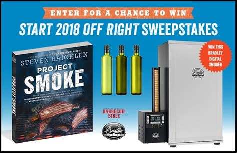 Sweepstakes Starts - enter the start 2018 off right sweepstakes barbecuebible com