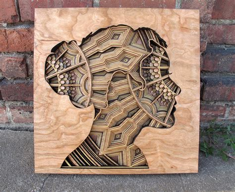 design art wood laser cut wood relief sculptures by gabriel schama colossal