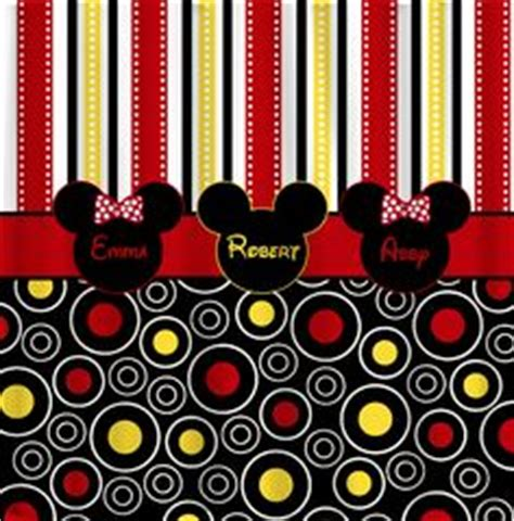 Mickey And Minnie Shower Curtain by Mickey Mouse Shower Curtain On Mickey Mouse