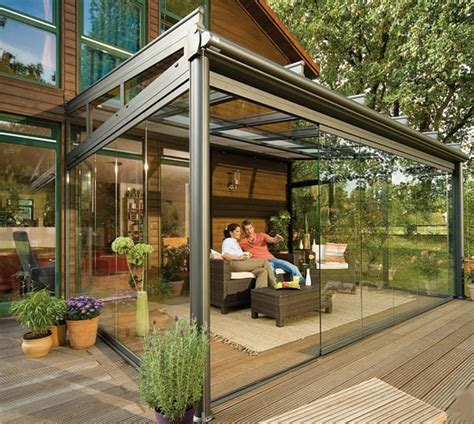 The Patio by Glass Patio Rooms From Weinor Glasoase Modern Outdoors