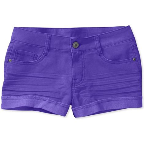 colored shorts l e i juniors colored denim shorts