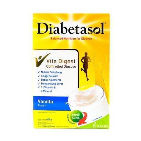 Diabetasol Vanilla 1000 Gr jual diabetasol vanila formula 1000gr harga kualitas terjamin blibli