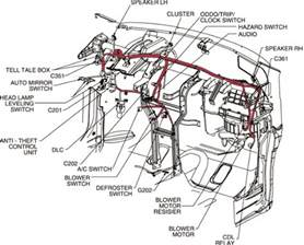 2009 chevrolet spark wiring diagram and electrical system circuit wiring diagrams