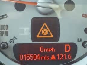 Warning Signs On Mini Cooper Anybody A Photo Of The Snowflake Warning Light