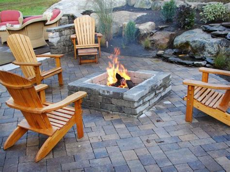 patio firepit 66 pit and outdoor fireplace ideas diy network