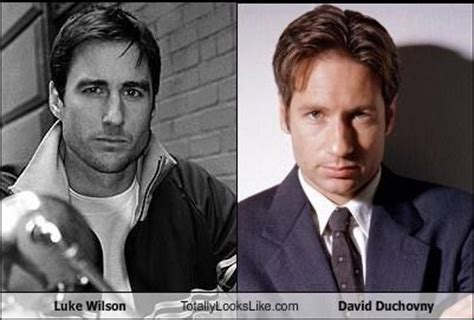 How To Get Lad Like David Duchovny by Luke Wilson Totally Looks Like David Duchovny David Duchovny