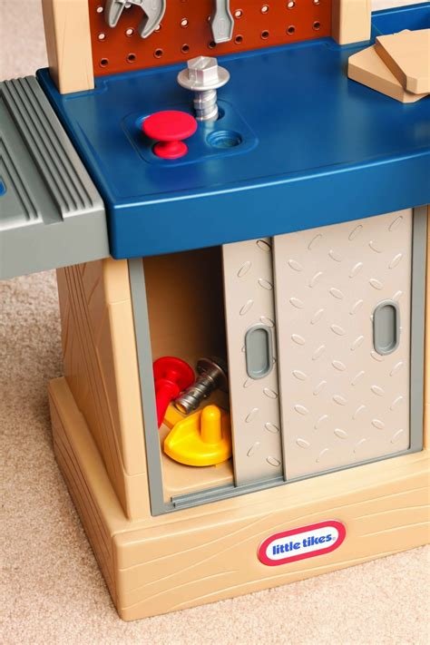 tool bench for 2 year old little tikes tough workshop toy at mighty ape nz