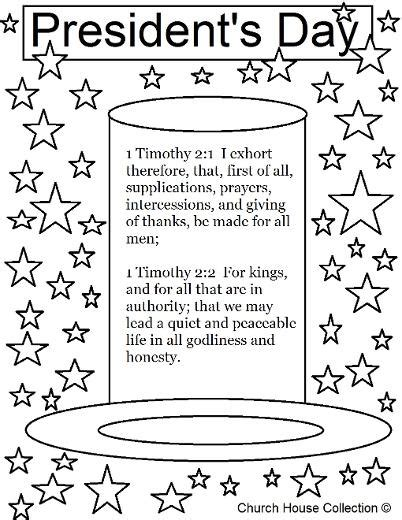 presidents day coloring pages preschool president s day coloring page for sunday school 1 timothy