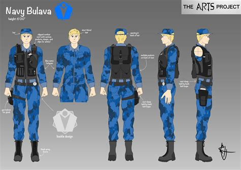 Characters Navy the arts project character concept navy bulava of team