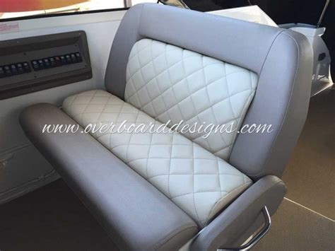boat seat upholstery material overboard designs marine upholstery canvas and more for
