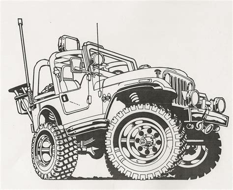 cartoon jeep drawings cartoon jeep drawings www imgkid com the image kid has it