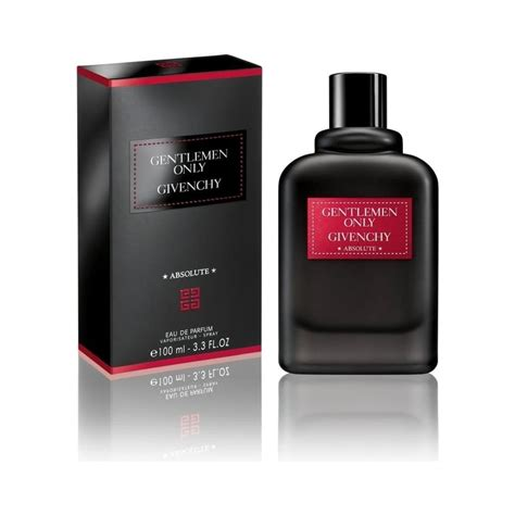 givenchy givenchy gentlemen only absolute eau de parfum 100ml spray mens fragrances from