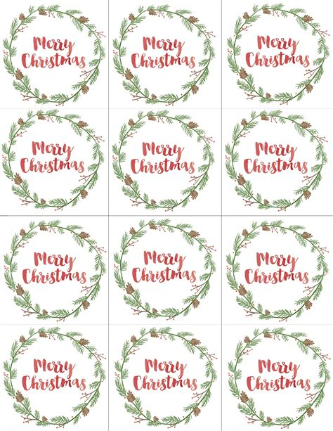 hand painted gift tags  printable christmas gift tags printable christmas gift tags