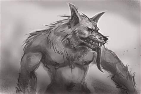 werewolf gimp tutorial how to draw manga werewolf creature monster fantasy