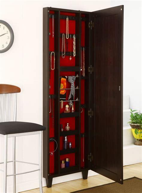 hanging jewelry armoire homesfeed