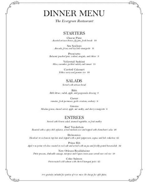 concession menu template delighted concession menu template photos resume ideas