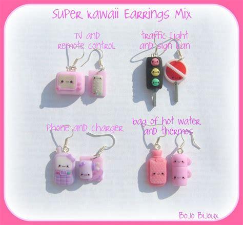 Bijoux Kawaii by Kawaii Mix Earrings By Bojo Bijoux Deviantart On Deviantart So