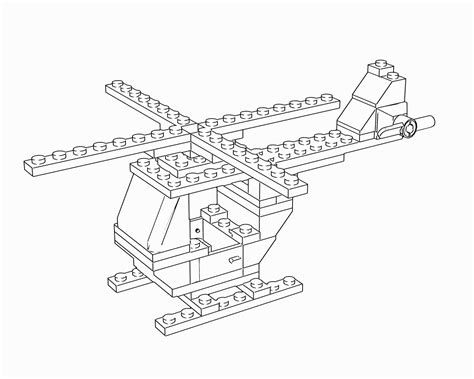 lego helicopter coloring pages free coloring pages of lego helicopter