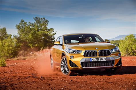 bmw road new bmw x2 arrives for those who want more stylish x1