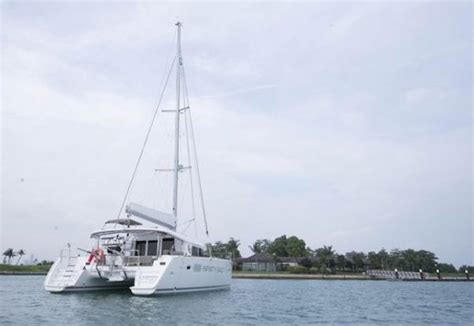 used power boats for sale singapore singapore charter business with sailing catamaran for
