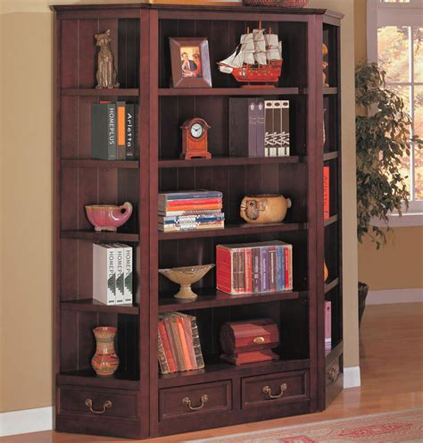 Coaster Corner Bookcase Coaster 800375 Bookcase Wall Unit 800375 Set At Homelement