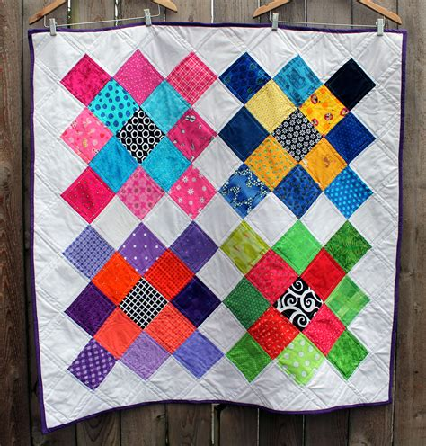 Quilt Designs Using Squares by Quilt Wombat Quilts