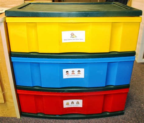 Classroom Drawers by Considerate Classroom Early Childhood Special Education