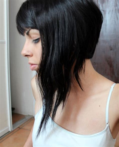 bob with long front short back leaning towards something like this long front super