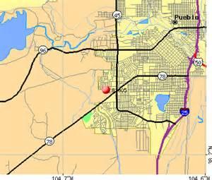 pueblo colorado zip code map 81005 zip code pueblo colorado profile homes