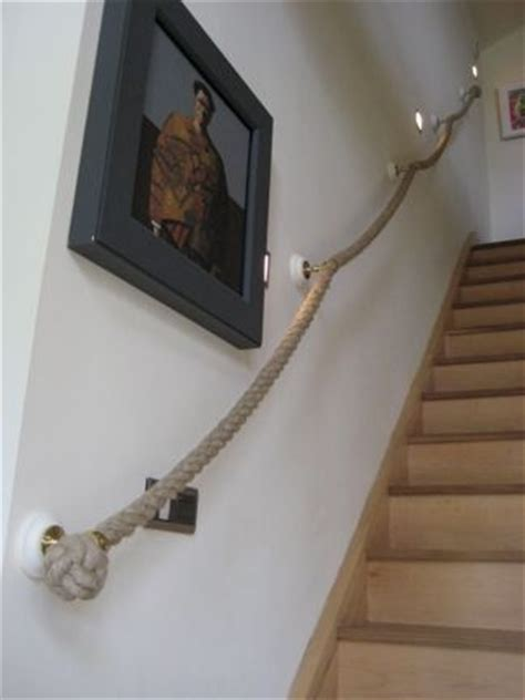 Treppe Handlauf Seil by Rope Banister Stair Rope And Banister Ropes Made To