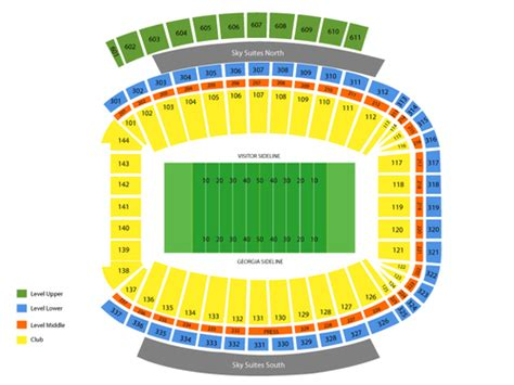 Georgia Theatre Company Gift Card Balance - sanford stadium seating chart events in athens ga