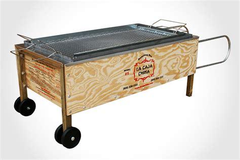 Outdoor Kitchen Blueprints La Caja China Roasting Box Mikeshouts