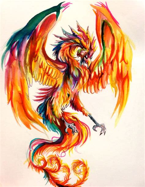 phoenix by lucky978 deviantart com on deviantart paint
