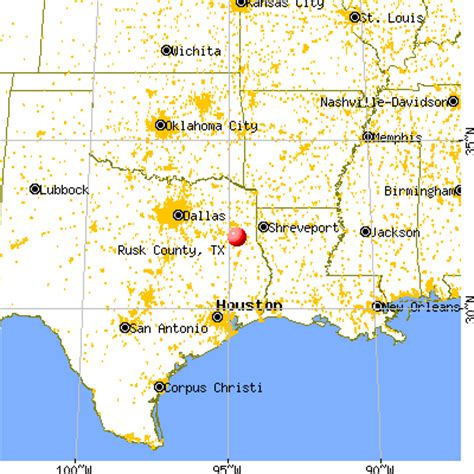 rusk texas map rusk county texas detailed profile houses real estate cost of living wages work