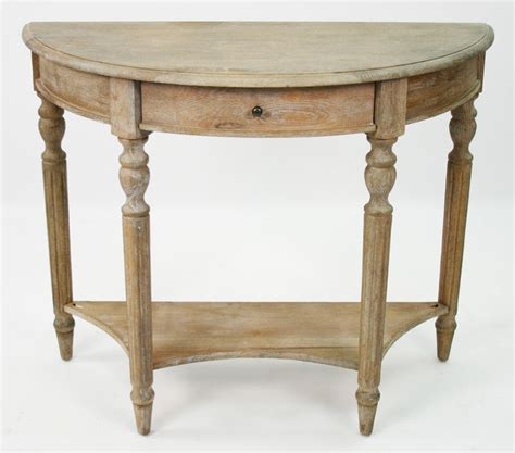 country style end tables traditional country style demilune console table