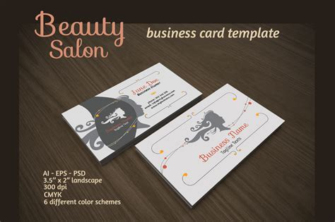 salon free business card template salon business card business card templates on