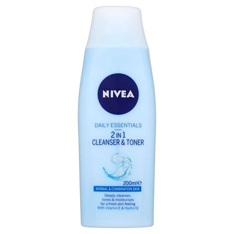 Toner Nivea nivea daily essentials 2 in 1 cleanser and toner 200ml at