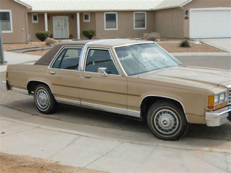 manual repair autos 1985 ford ltd crown victoria security system 1985 ford ltd crown victoria 4 door 49604 miles for sale in albuquerque new mexico united states