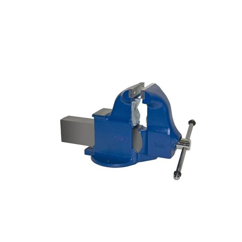 lowes bench vise shop yost 6 in ductile iron combination pipe and bench