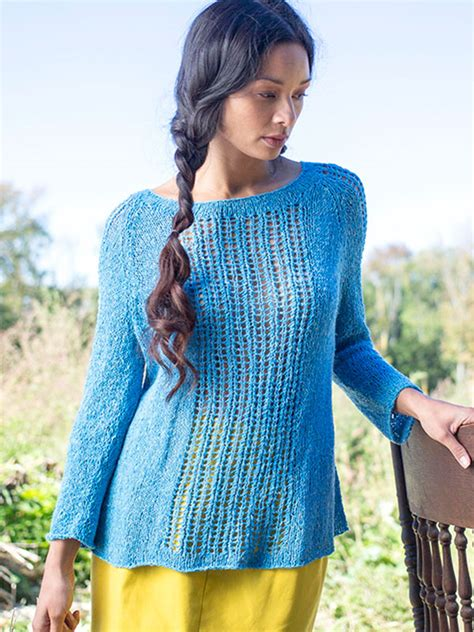 knitting pattern lace jumper lace pullover knitting patterns in the loop knitting