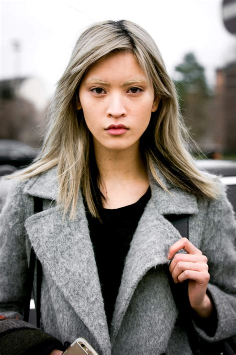 japanesse women with grey hair gray hair we love this cool edgy and oh so deliberate
