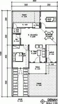 42 gambar dan denah rumah minimalis type 60 desainrumahnya