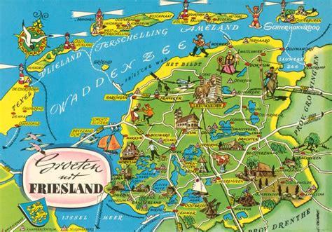 netherlands friesland map friesland