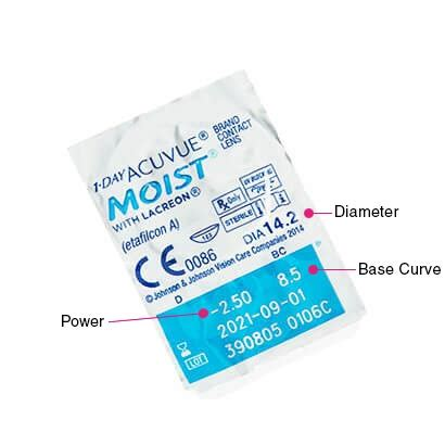 1 Day Acuvue Moist 3536 by 1 Day Acuvue Moist Contact Lenses Free Delivery Feel
