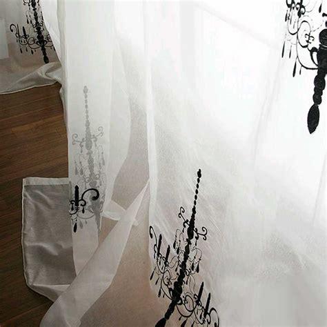 chandelier curtain