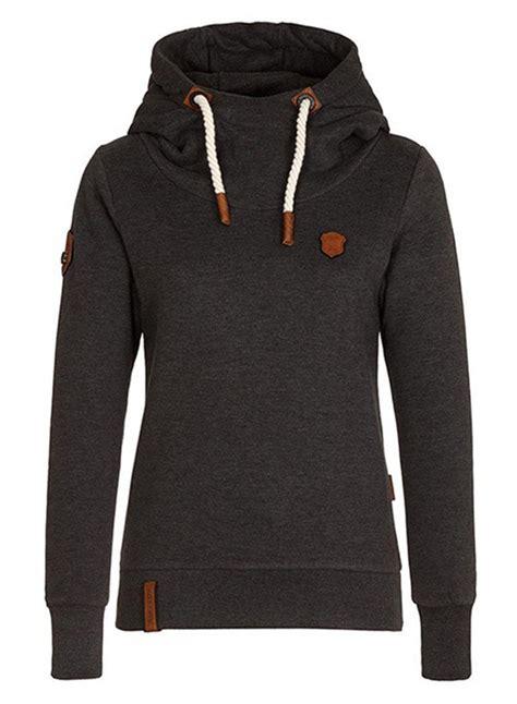 Drawstring Sleeve Hoodie s sleeve pullover fleece drawstring hoodie