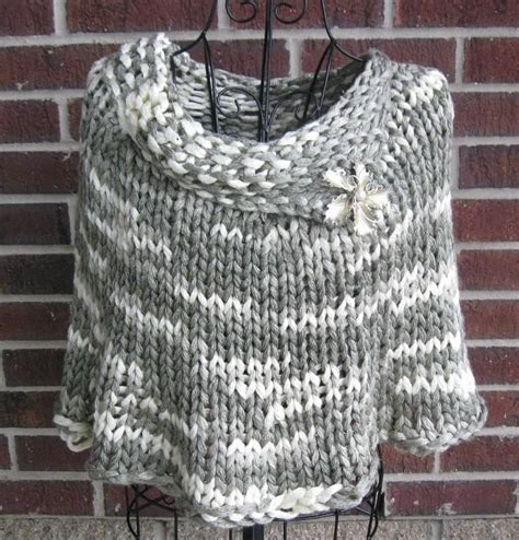 poncho pattern knitting yarn 17 best images about ponchos and capes on pinterest