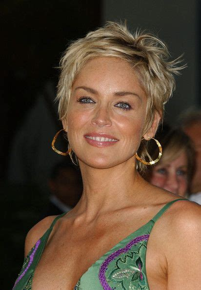 sharon stone new haircut more pics of sharon stone pixie sharon stone sharon