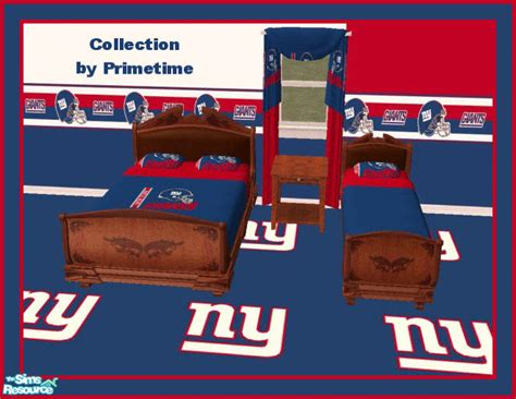 new york giants bedroom primetime024 s pt nfl new york giants bedroom