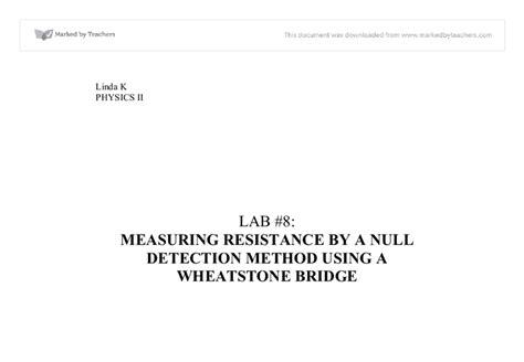 wheatstone bridge null method wheatstone bridge null method 28 images chapter 2 dc and ac meter ppt strain gauges